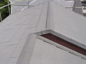 瓦から金属屋根のエコグラーニへ葺き替え完了です