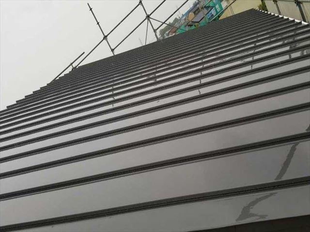 愛西市 金属屋根