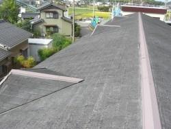 現在の屋根の状況南面
