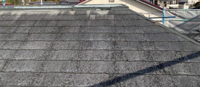 多治見市にてコロニアルの屋根の棟板金を取替してきました