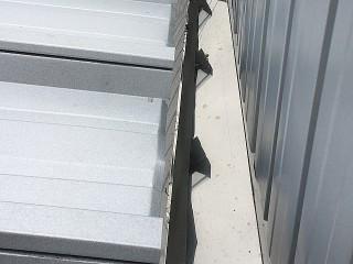 雨漏り箱樋交換