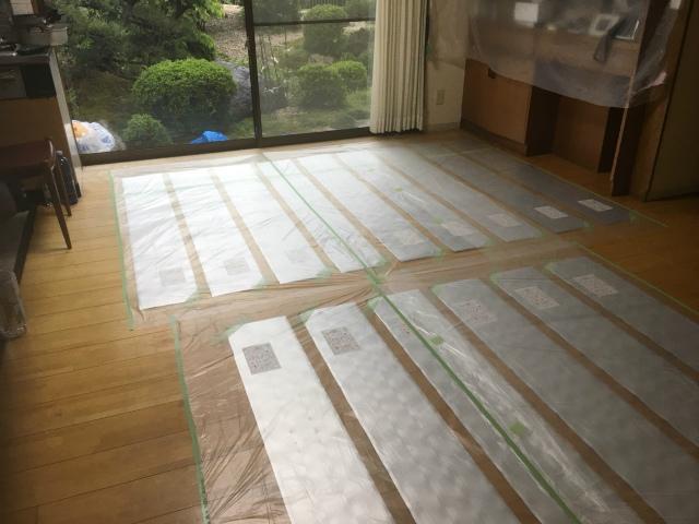 床暖房設置