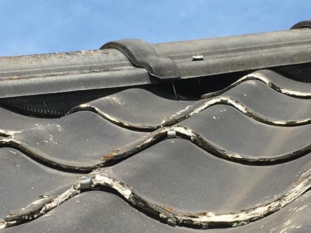 多治見市N様邸にて瓦屋根の現地調査をしました。