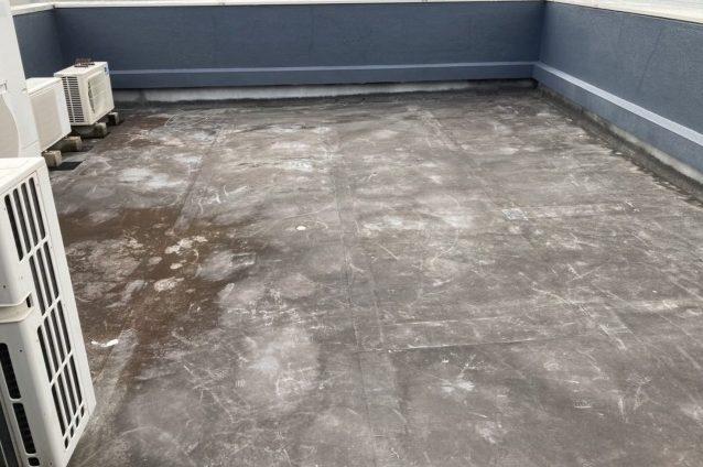 中津川市のビルの屋上にウレタン防水工事をしました
