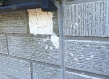 凍害で剥がれた外壁